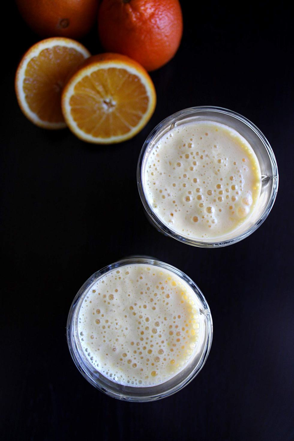 Grandma Ray's Orange Julius - this super easy recipe is five ingredients and delivers the BEST julius ever!