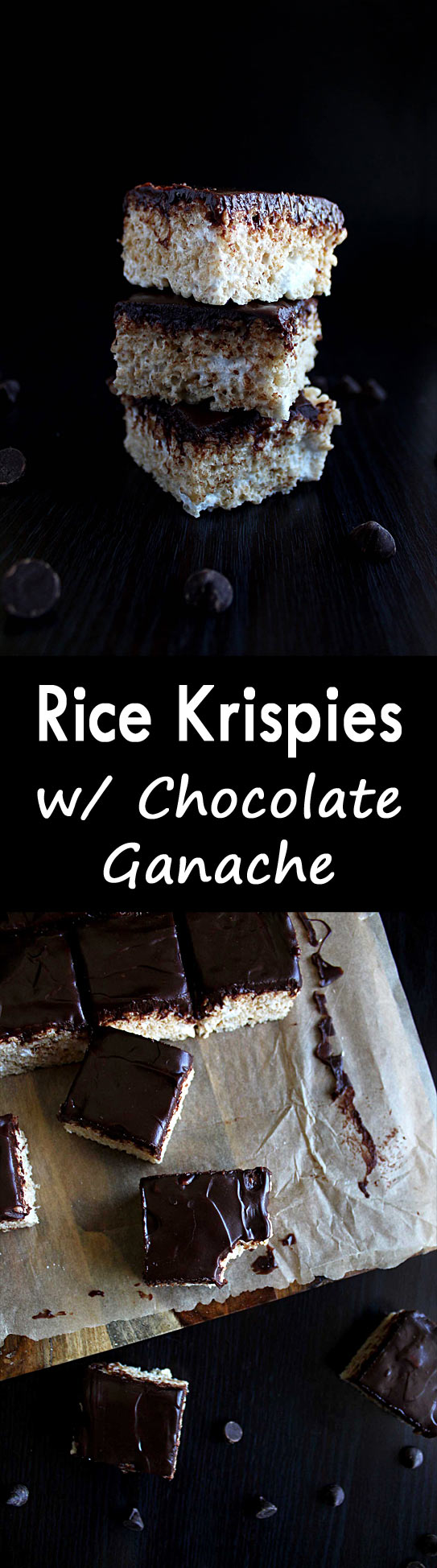 Rice Krispies with Chocolate | Soft Rice Crispy Treats | Marshmallow Rice Krispies | Kid Treats | Ganache | Easy Treats