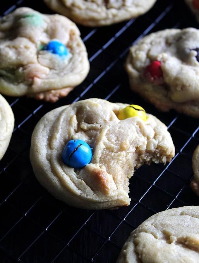 Easy M&M Cookes | M M Cookies Recipe | Homemade Soft Pretzel M&M Cookies