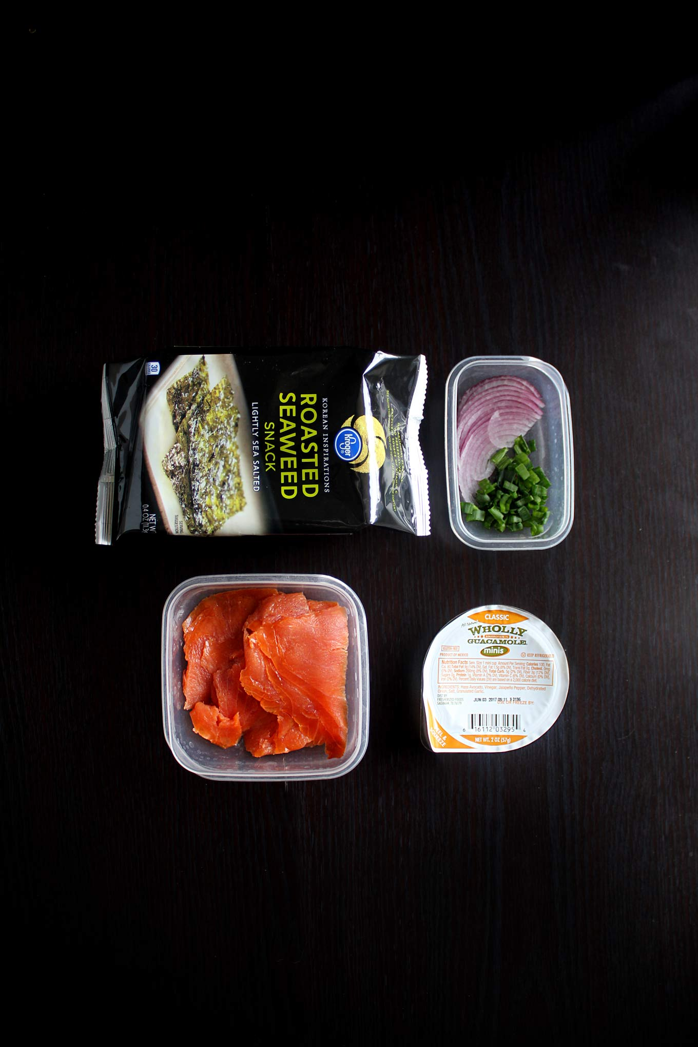 low carb riceless sushi lunch on the go wyldflour