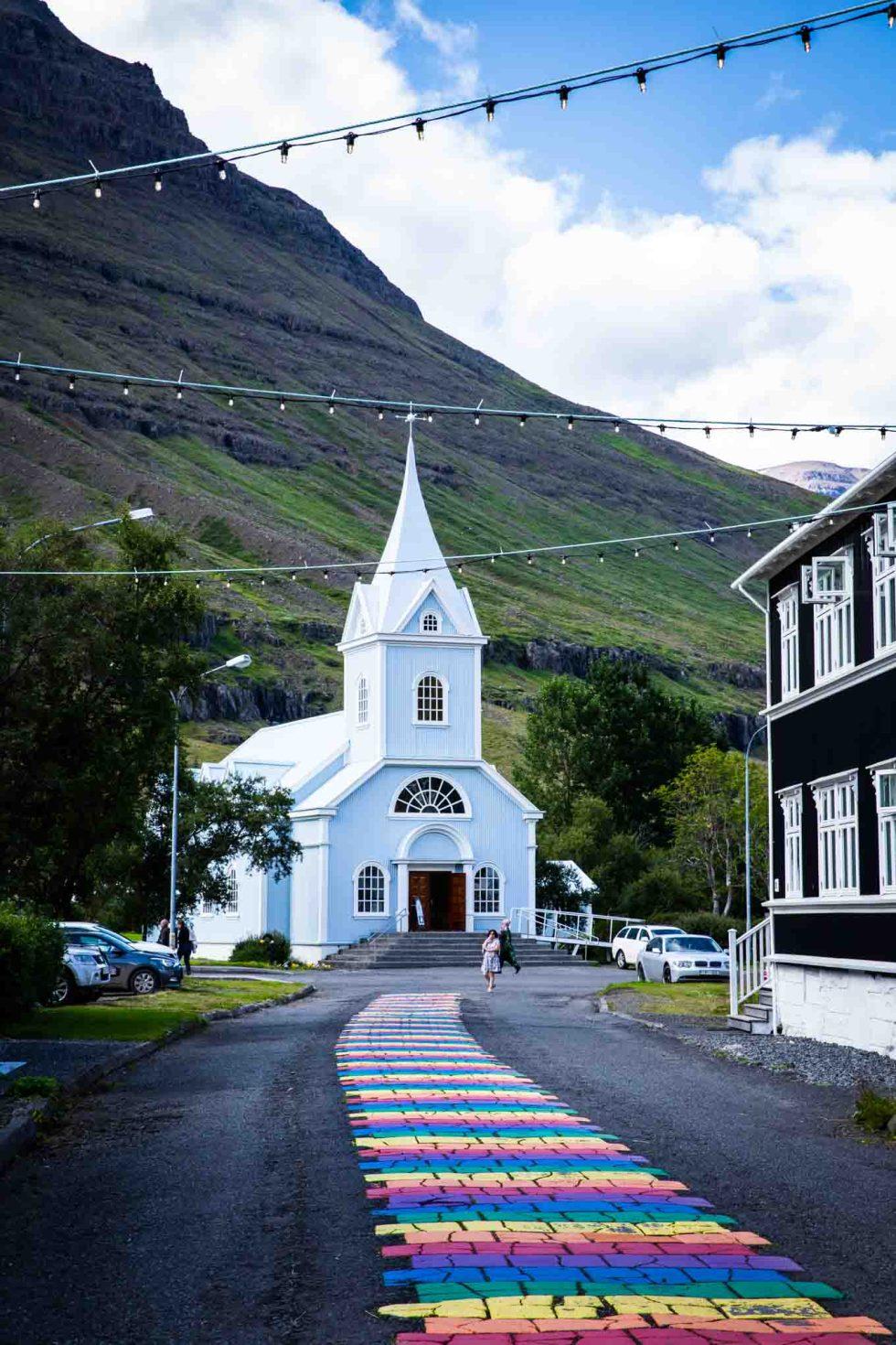 Seydisfjordur Church Iceland | Ring Road Itinerary