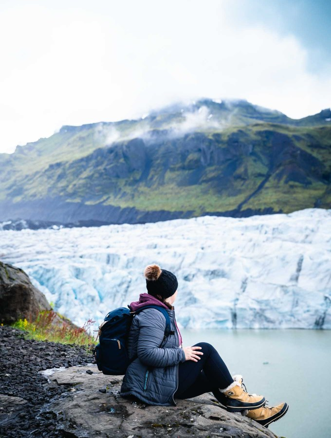 Svinafellsjokull | Camping in Iceland | Itinerary