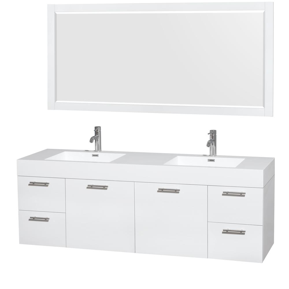 72 inch bathroom vanity top double sink