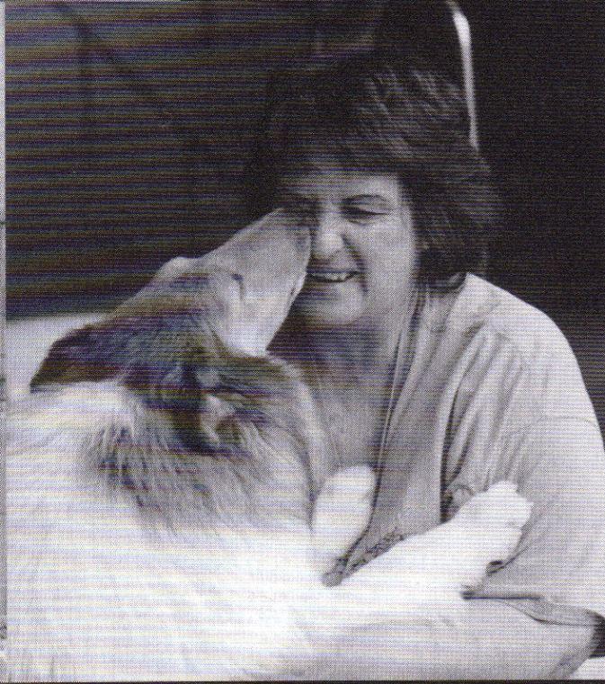 Ch. Vennessee Summer Wind & Joyce Weinmann