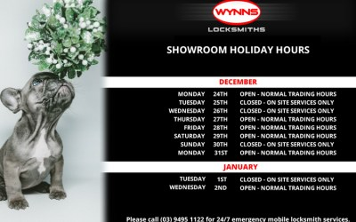 Showroom holiday trading hours