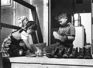Children at Heart Mountain Relocation Center