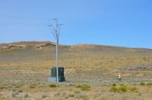 Medicine Bow water well