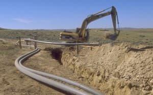 Construction for coal bed methane development, Buffalo Field Office.