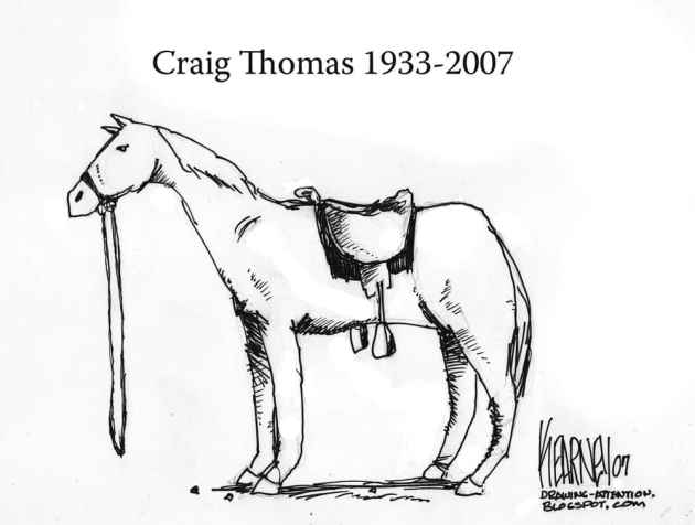 In memory of Craig Thomas