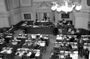 Wyoming state legislature