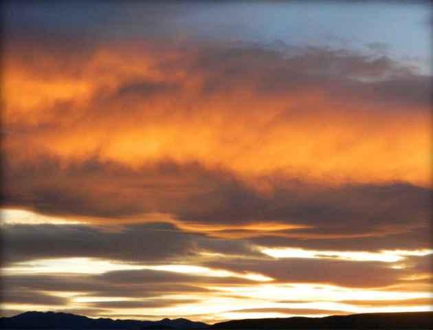 Owl Creek Sunset