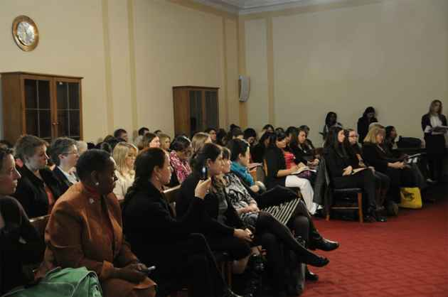 Congressional staffers gathered Tuesday to hear why the House should move to reauthorize the Violence Against Women Act