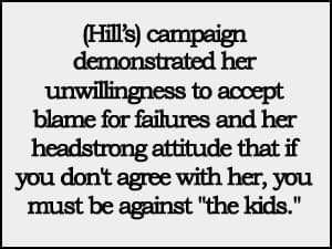 Hill's campaign