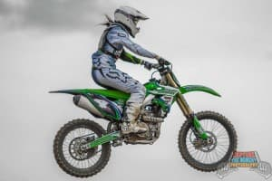 Nix Gaudern started riding only a few years ago and is not trying to reach professional status in motocross. (Photo courtesy Steve Gowen with Capture the Moment Photography)