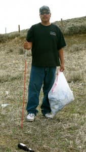 Ira Eagle Road keeps a stretch of Highway 132 clear of litter.