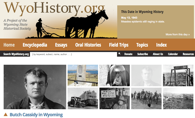 WyoHistory.org recently launched its online encyclopedia, which is spearheaded by Casper historian Tom Rea.