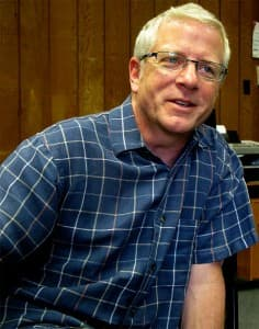 Daniel Fee, an adjunct professor at UW Oshkosh, traveled once a month to teach at Wind River Tribal College.