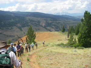 Summer outings sponsored by groups like the Wyoming Wilderness Association, offer a chance for people to explore new places while learning about the area. (Photo courtesy Wyoming Wilderness Association)