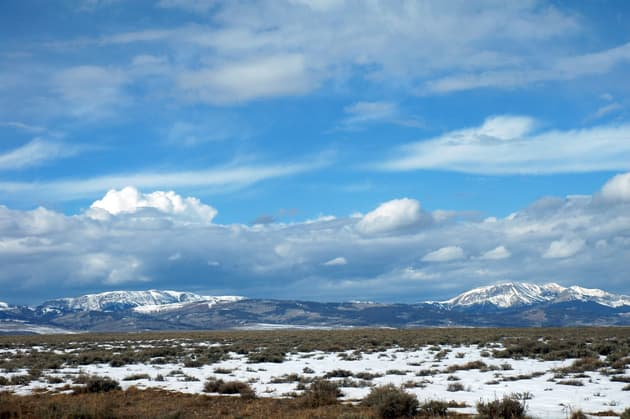 The Wyoming Range in the Bridger-Teton National Forest. (Wyoming Outdoor Council photo)