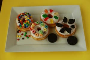 Cowboy Donuts in Rock Springs makes special kid donuts, dreamt up by preschoolers who visited the shop. (Photo courtesy Cowboy Donuts)