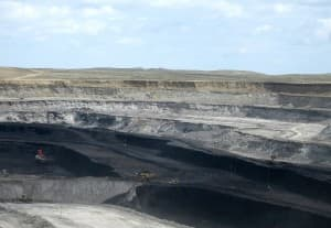 A coal mine in the Powder River Basin (USGS photo — click to enlarge)
