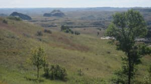 The landscape in and around the Theodore Roosevelt National Park is prime habitat for sportsmen. (Dustin Bleizeffer/WyoFile — click to enlarge)