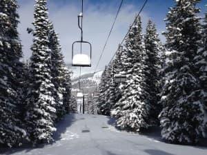 Antelope Butte ski area Wyoming