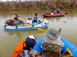 Rafting Green river. Utah. (Emilene Ostlind — click to enlarge)