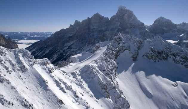 Tetons in winter
