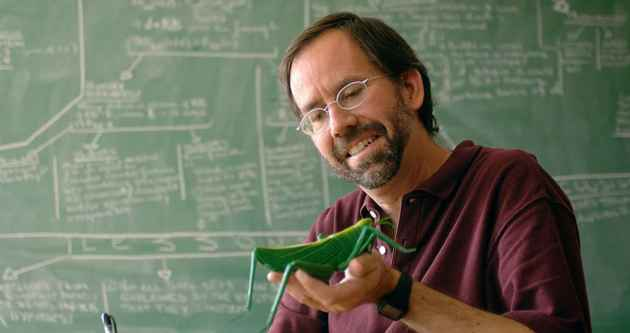 Jeffrey Lockwood formerly studied grasshoppers, locusts and other insects, but now teaches creative writing and philosophy at the University of Wyoming. (Ted Brummond - click to enlarge)