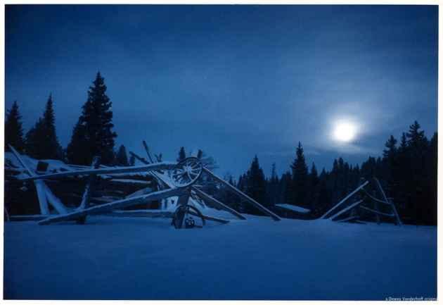 Winter Rustic Nocturne Blue (Dewey Vanderhoff /Flickr - click to enlarge)