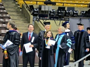 University of Wyoming faculty 2010 graduation (click to enlarge)