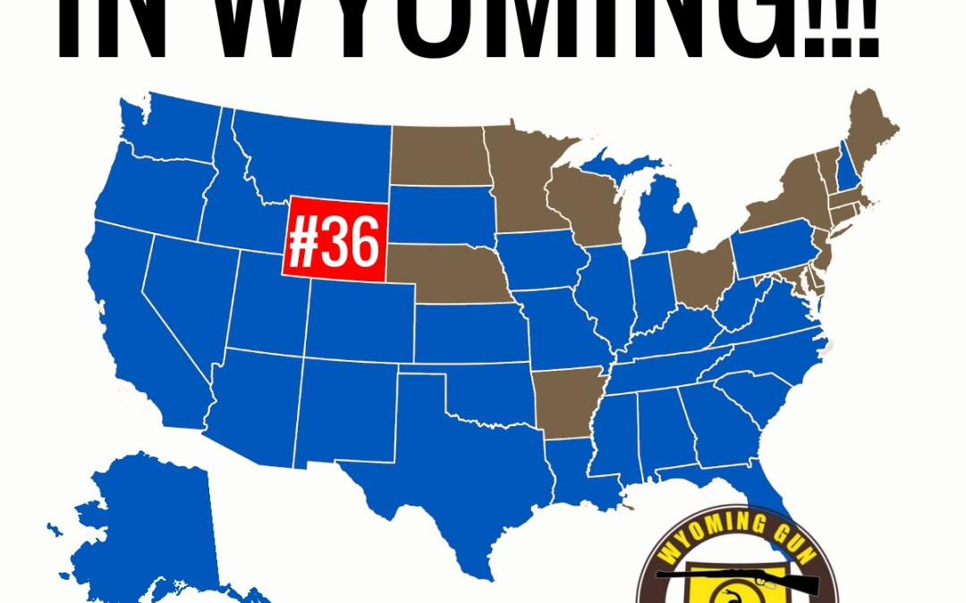Wyoming Becomes the 36th Stand-Your-Ground State!