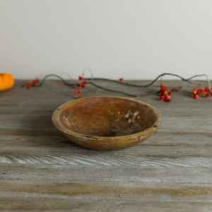"""9"""" Wooden Bowl 