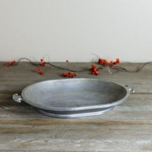 Hammered Aluminum Tray | Wyse Guide