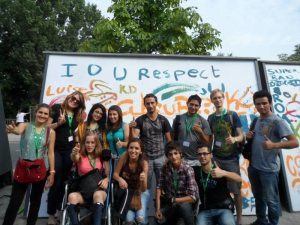 Participants of Hostelling International's IOU Respect program