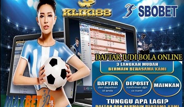 Cara Daftar Akun Judi Bola Online