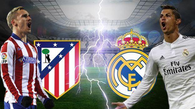 Prediksi Atletico Madrid vs Real Madrid 19 November 2017