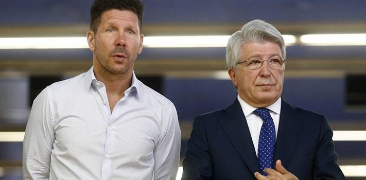 Presiden Atletico Madrid Klaim Diego Simeone Akan Bertahan