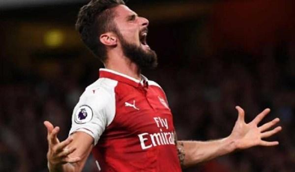 Arsenal Kehilangan Olivier Giroud Untuk 10 Laga Karena Cedera