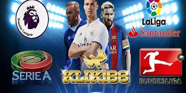Jadwal Bola Liga-Liga Top Eropa 16-19 Desember 2017