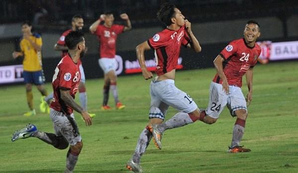 Menang Dari Tampines Bali United Lolos PlayOff Liga Champion Asia