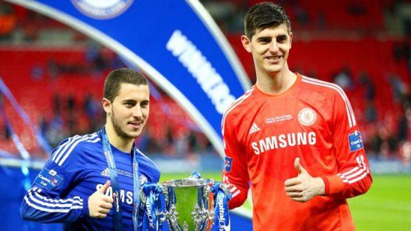 Conte Tegaskan Hazard dan Courtois Tetap Bertahan di Chelsea