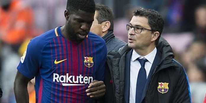 Valverde Yakin Umtiti Tak Akan Tergoda Tawaran Manchester City