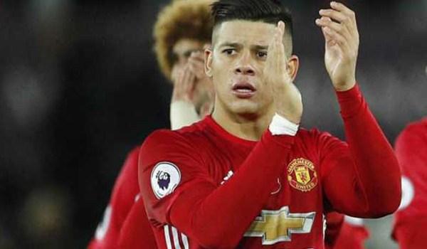 Paris Saint Germain Incar Bek Manchester United Marcos Rojo