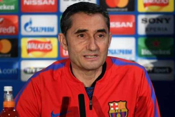 Ernesto Valverde Istirahatkan Lionel Messi dan Luis Suarez