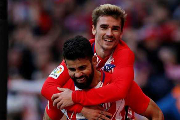 Griezmann Kembali Subur Di Atletico Madrid Berkat Diego Costa
