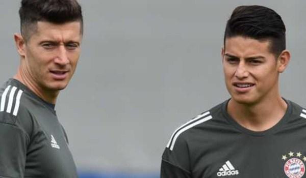 Real Madrid Ingin Tukar James Rodriguez dengan Robert Lewandowski