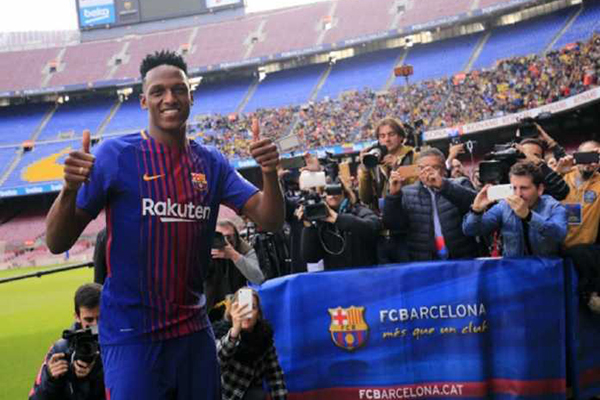 Baru Saja Gabung Yerry Mina Harus Tinggalkan Barcelona