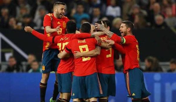 Laporan Pertandingan Sepakbola Timnas Jerman VS Timnas Spanyol
